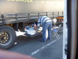 Oost Europa truck driver