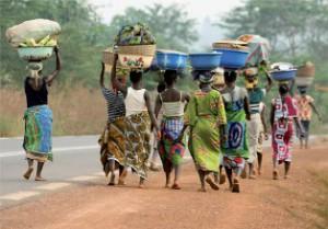 vrouwen in africa